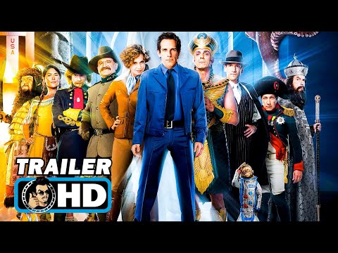 NIGHT AT THE MUSEUM Trilogy Trailers (2006 - 2014) Ben Stiller