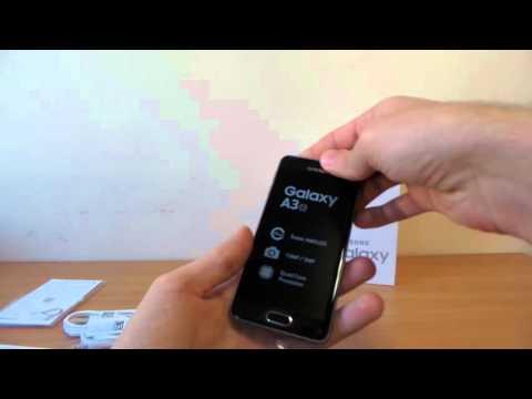 Samsung Galaxy A3 (2016) kicsomagoló videó