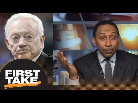 Stephen A. Smith: Jerry Jones has never really supported Dak Prescott   First Take   ESPN