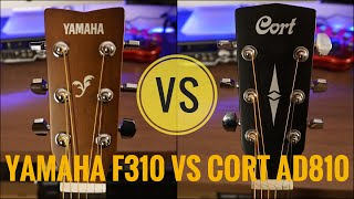 Yamaha F310 vs Cort AD810 | Detailed Comparison | The Guitar Chronicles