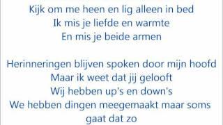 Guus Meeuwis ft. Gers Pardoel - Nergens zonder jou lyrics