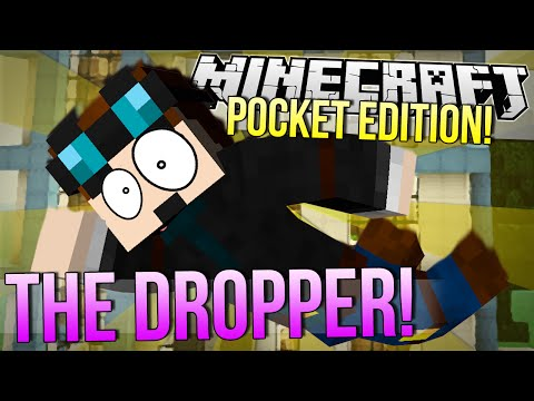 Minecraft Pocket Edition | THE DROPPER | 0.9.0