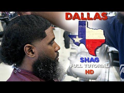 BARBER TUTORIAL; HOW TO CUT A DALLAS,TX SHAG HD