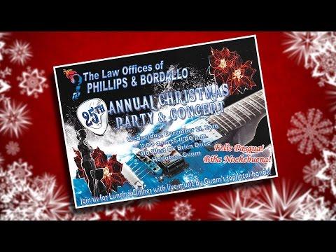 Phillips & Bordallo 2016 Christmas Party