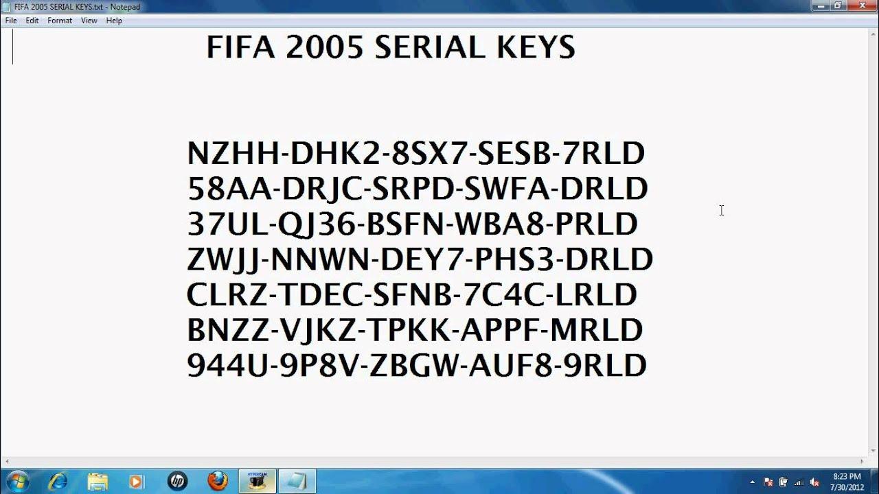fifa 11 serial key pc