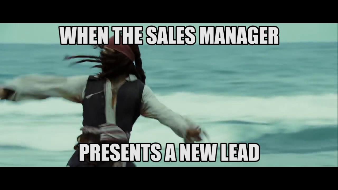 FUNNY SALES VIDEO - When A New Lead Comes In!!!