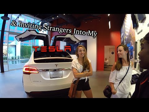 Thumbnail: Converting a Model 3 Reservation Holder & Strangers in My Tesla!
