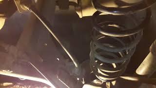 Замена задних пружин авео т250 с установкой проставок под амортизатор