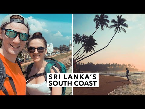 THESE BEACHES ARE AMAZING // Exploring Sri Lanka's south coast