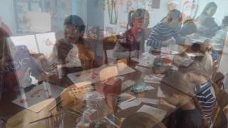 Мастер-класс по изобразительному искусству в ДДЮТ