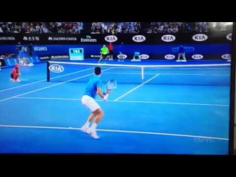 Aus Open 15: Djokovic vs Milos
