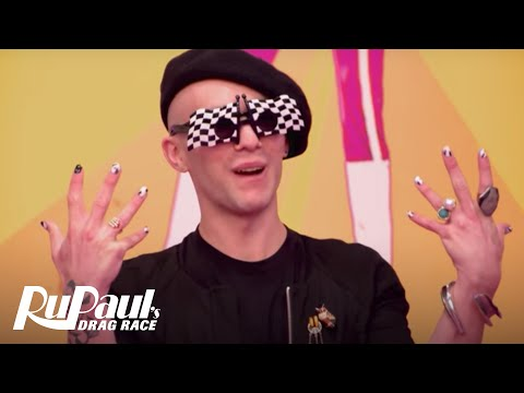 The Library is Open for the Filthiest Reads! | RuPaul's Drag Race Season 9 | VH1