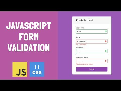 JavaScript Client-side Form Validation