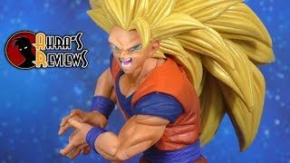 Banpresto FES Goku Super Saiyan 3 Dragon Ball Super Statue Figure Review Recensione