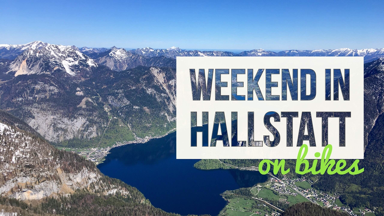 Weekend in Hallstatt on bikes
