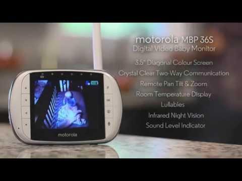 Motorola MBP482 Moniteur Bébé Vidéo