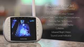 Moniteur Bébé Vidéo MBP 36S avec écran LCD de MOTOROLA
