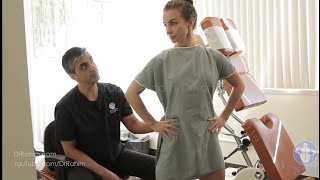 Ballet Teacher with Sciatic and Hip  Pains for 2 Months HELPED with Dr. Rahim Gonstead Chiropractor