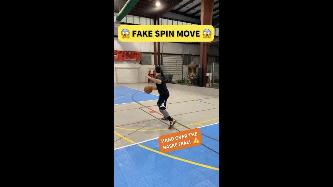 Fake Basketball Spin Move! 😱 Legal or Not?