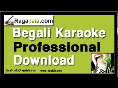 Emon ekta jhinuk khunje - Bengali Karaoke - Nirmala Mishra