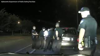 Raw Footage Of Georgia Police Officers Brutally Arrest 65 Year Old Grandmother During Traffic Stop