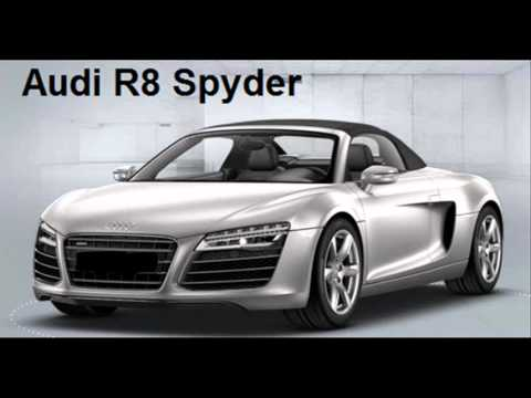 How To Pronounce Audi >> How To Pronounce Audi R8 Spyder