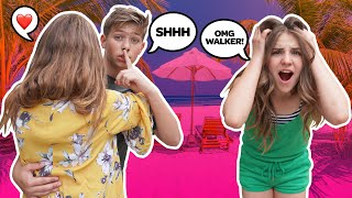 Flirting With My CRUSH'S BEST FRIEND To See How She Reacts **GIRLFRIEND PRANK** 💕 | Walker Bryant