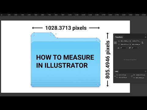 How to Measure in Illustrator