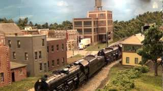 Lehigh Valley Railroad Steam at Bloomsbury New Jersey (L&KV Model Railroad Museum)