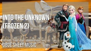 EASY Oboe Sheet Music: How to play Into the Unknown (Frozen 2) by Idina Menzel