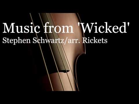 Music From Wicked (Orchestra Arrangement) by Stephen Schwartz (Professional Studio Recording)