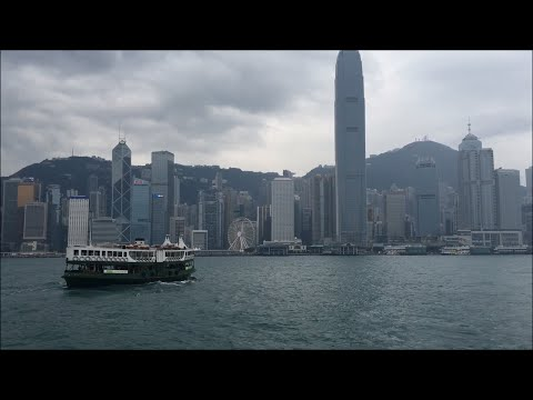 Crossing Victoria Harbour - Star Ferry - Hong Kong