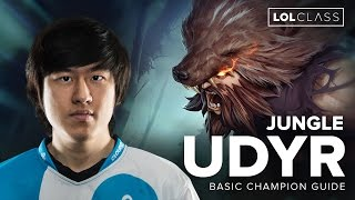 Udyr Jungle Solo Queue Guide by C9 Rush - Season 6 | League of Legends