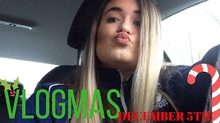 How I Do My Makeup for School WHEN I DO IT VLOGMAS #5 // Camsglam