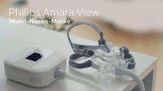 Erfahrungen mit der Amara View Mund-Nasen-Maske von Philips Respironics (Teaser)