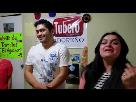Visita al canal de unos ínvitados especiales desde Australia en El Salvador