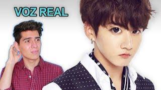 Escuchando la VOZ REAL de Jungkook BTS sin Autotune | Vargott