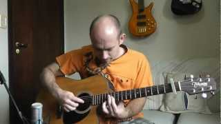 Clocks Coldplay Acoustic Guitar Solo Cover Violão Fingerstyle