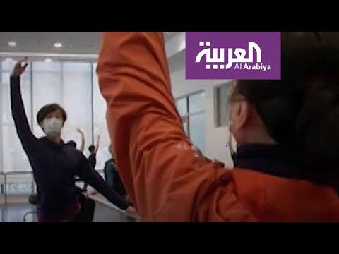 خوفا من فيروس كورونا.. فرقة رقص شنغهاي تتدرب بالكمامات  - نشر قبل 6 ساعة