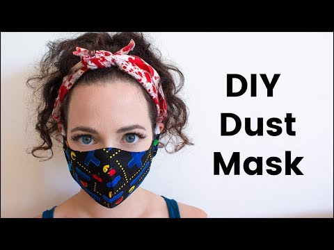 DIY Dust Mask for Burning Man