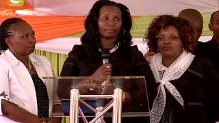 Mtangazaji Waweru Mburu azikwa Murang'a