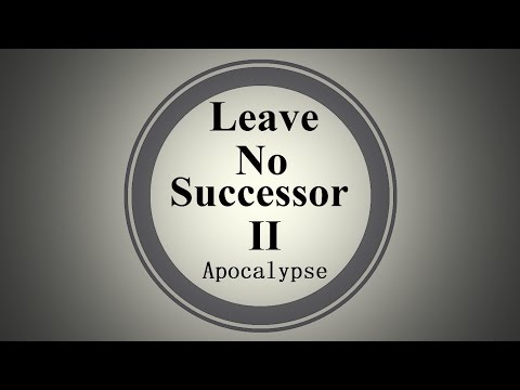 Leave No Successor II Apocalypse 2015  21:9 English&Chinese