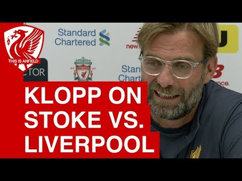 "Jurgen Klopp on Stoke City vs. Liverpool: ""The fans can make all the difference"""