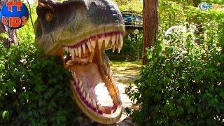 Ярослава и Кукла Барби в Динопарке. Парк Динозавров Анталия Турция. Видео для детей. Часть 2