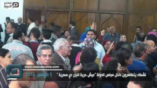 مصر العربية | نشطاء يتظاهرون داخل مجلس الدولة