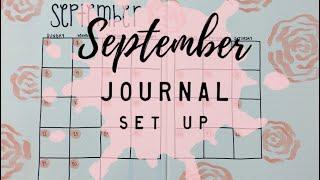 SEPTEMBER 2019 Journal Setup | BudgetWithBri