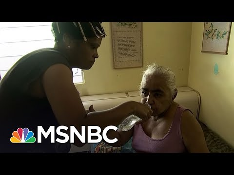 FEMA: Not Our Job To Distribute Food And Water In Puerto Rico | Rachel Maddow | MSNBC