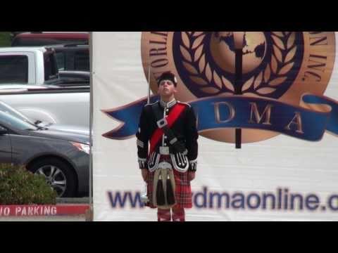 Drum Major Christopher Cortez - World Class Mace -  2011 Riverside King Drum Major Competition