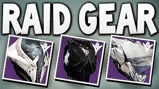 Destiny - ALL KINGS FALL RAID GEAR !!