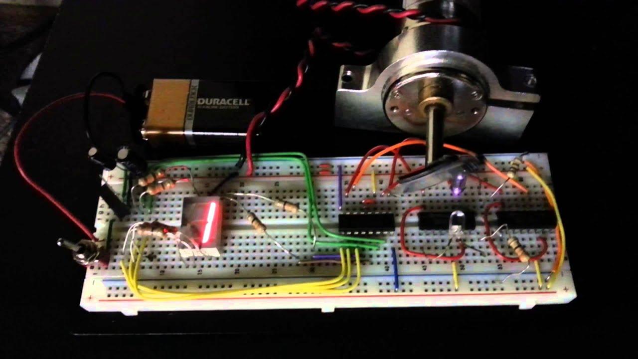 Jk Flip Flop 7 Segment Project Digit Display Arduino Also Circuit 4026